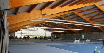 Sanierung 4-Feld Tennishalle, Hamburg-Rissen